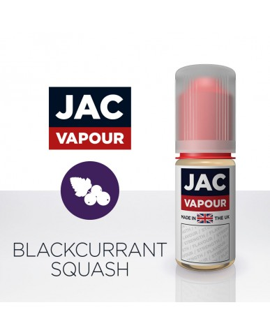 Blackcurrant Squash - 10ml By JacVapour E-Liquid