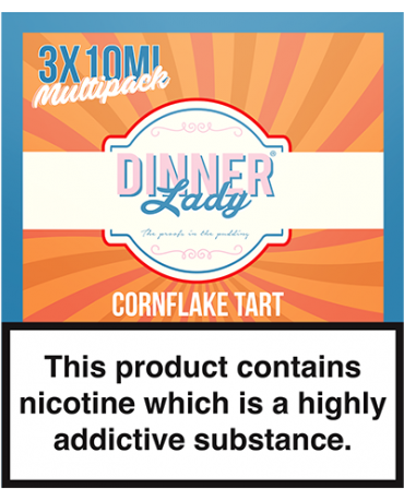 Dinner Lady - Cornflake Tart - 30ml (3 x 10ml)