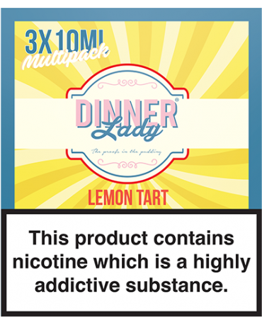 Dinner Lady - Lemon Tart - 30ml (3 x 10ml)