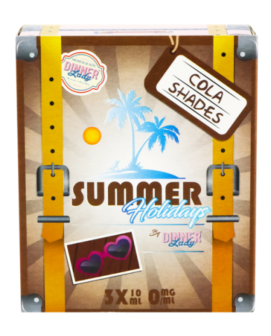 Cola Shades - 30ml (3 x 10ml) Summer Holiday by Dinner Lady