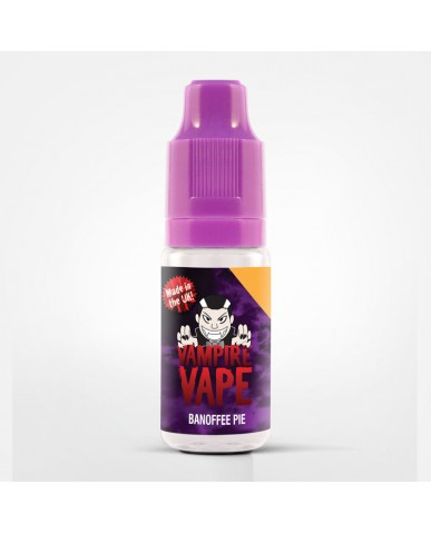 Banoffee Pie - 10ml Vampire Vape E-Liquid